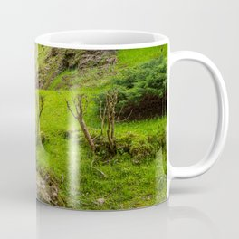 Ancient mill on the river Coffee Mug