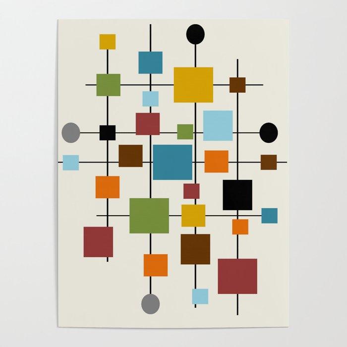 Mid-Century Modern Art 1.3 Poster