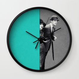 Observers at the scene ... Wall Clock