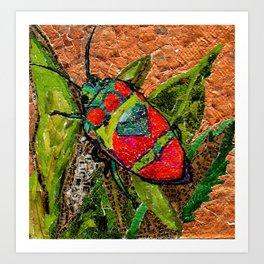 Japanese Stink Bug Art Print