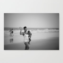 Rules for carrying a baby Canvas Print