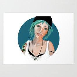 Chloe Price - Life is Strange Art Print