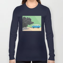 Dharma Van vs Smoke Monster Long Sleeve T-shirt