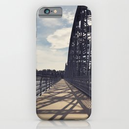 shadow stripes iPhone Case