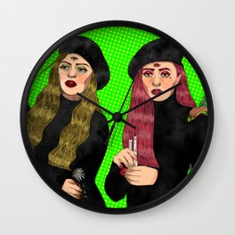 Witches like me Wall Clock