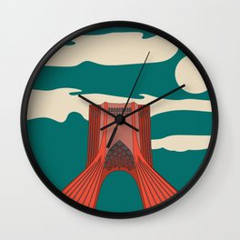 Tehran Wall Clock