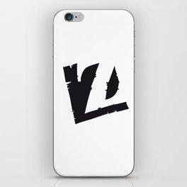 The Alphabetical Stuff - Z iPhone Skin