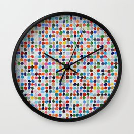 Colossal Polka Daubs Wall Clock