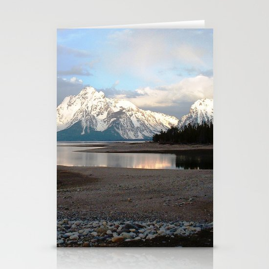 Wyoming - 2 Stationery Cards