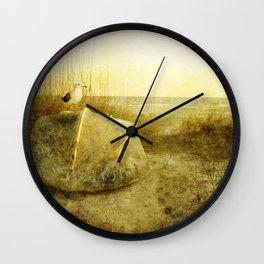 A Seagulls Tail Wall Clock