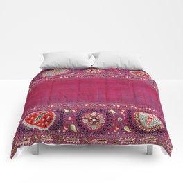 Shakhrisyabz  Antique South West Uzbekistan Suzani Embroidery Comforters