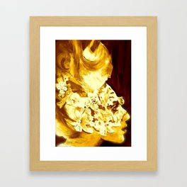 Hello Hello. Framed Art Print