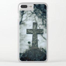 Cross Clear iPhone Case