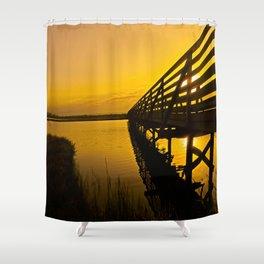 Sunrise Bolsa Chica Wetlands 2 Shower Curtain