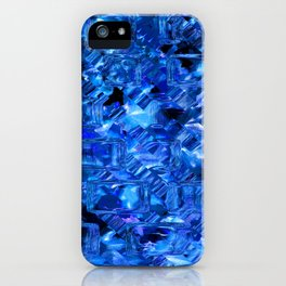 Ice Crystals Abstract iPhone Case