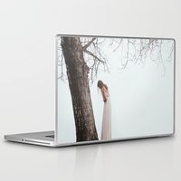 alone Laptop & iPad Skins featuring Alone by Jovana Rikalo