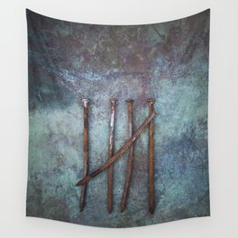 Five Nails Wall Tapestry
