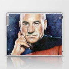 Captain Picard Laptop & iPad Skin