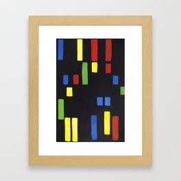 Modern NYC Freight Framed Art Print
