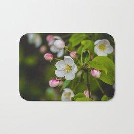 Crabapple Blossoms 3 Bath Mat