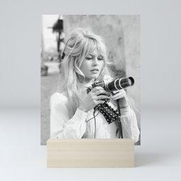 brigitte - bardot - style Mini Art Print
