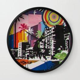 the city 6 Wall Clock
