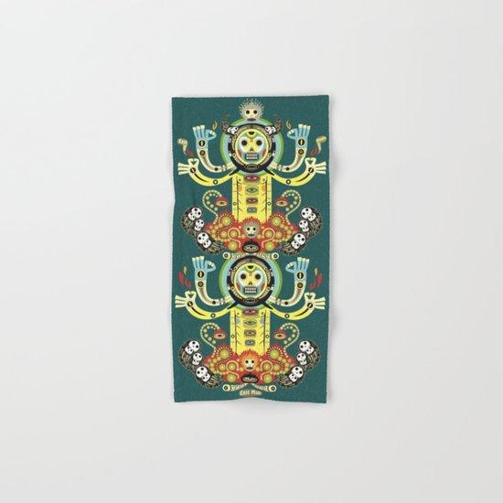 The Gate-Totem Hand & Bath Towel