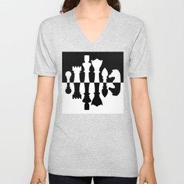 Chess Set Unisex V-Neck