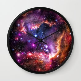 Small Magellanic Cloud's Starry Wingtip Wall Clock