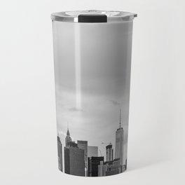 Manhattan Ship Travel Mug