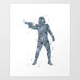 Stormtrooper Star . Wars Art Print