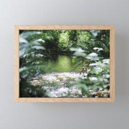 Shimmering Water Framed Mini Art Print