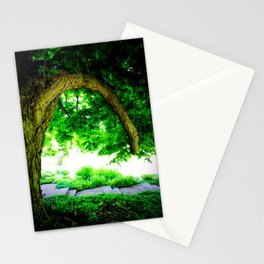 Park idyll Stationery Cards
