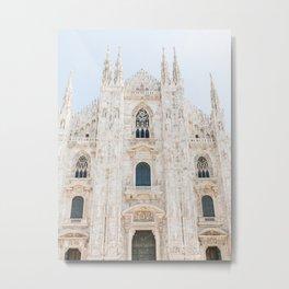 Duomo of Milan, Italy | Milan Cathedral Italy print | Fine Art Travel Photography Metal Print