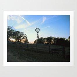 Ranch Sunsets Art Print