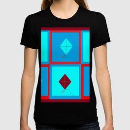 Grandma's Kites Quilt, My Version T-shirt