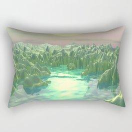 The Green Planet Rectangular Pillow