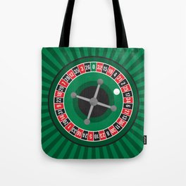 Roulette Wheel Tote Bag