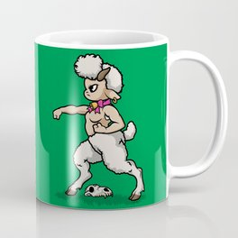 Faun Fighter (lamb) Coffee Mug