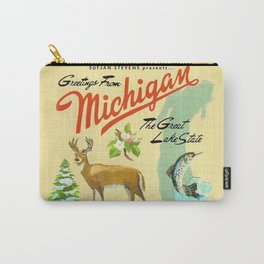 Sufjan Stevens - Greetings from Michigan, the Great Lake State Carry-All Pouch