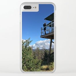 Lookout Lookout Clear iPhone Case
