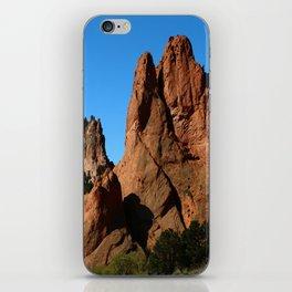 Rockformation - Garden Of Gods  - Colorado iPhone Skin