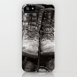 Manual Labor - Firewood 3 iPhone Case
