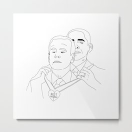 ObamaBiden Metal Print