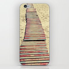 Beach path iPhone & iPod Skin
