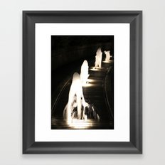 Fountains of Light Framed Art Print