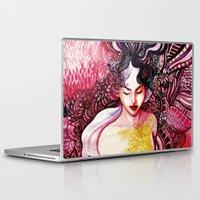 alone Laptop & iPad Skins featuring Alone by Verismaya
