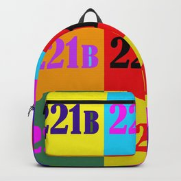 221B Color Block Backpack