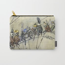 """Bother the Gnat Audience"" by A Duncan Carse Carry-All Pouch"