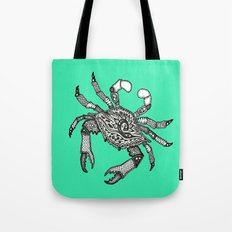 Crab Three Tote Bag